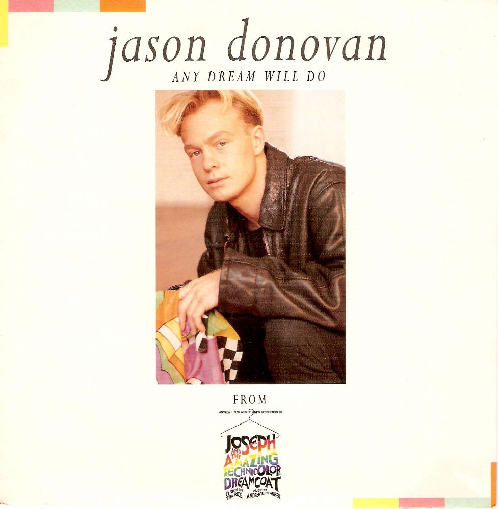 JASON DONOVAN Any Dream Will Do Vinyl Record 7 Inch Really Useful 1991